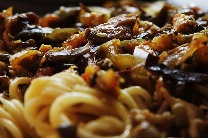 Рецепт Китайская лапша в соевом соусе