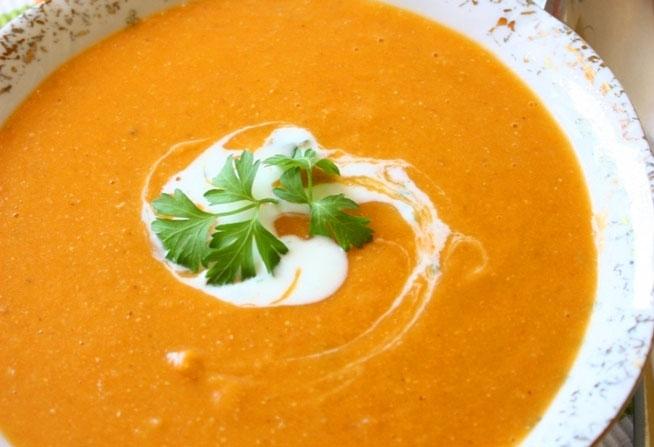 Рецепт Суп-пюре с чечевицей. Приготовление   блюда
