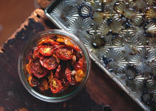 Рецепт Домашние вяленые помидоры. Приготовление   блюда