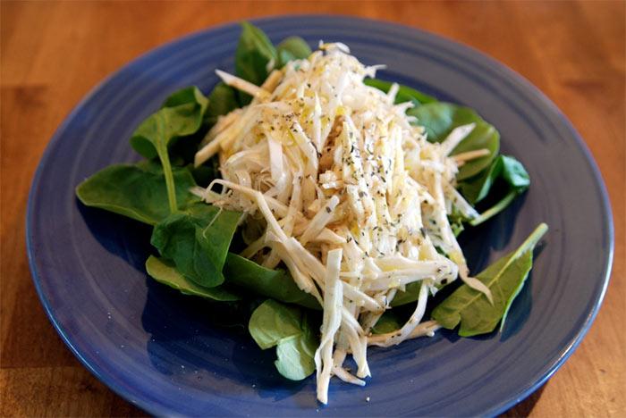 Рецепт Салат с телятиной и сельдереем. Приготовление   блюда