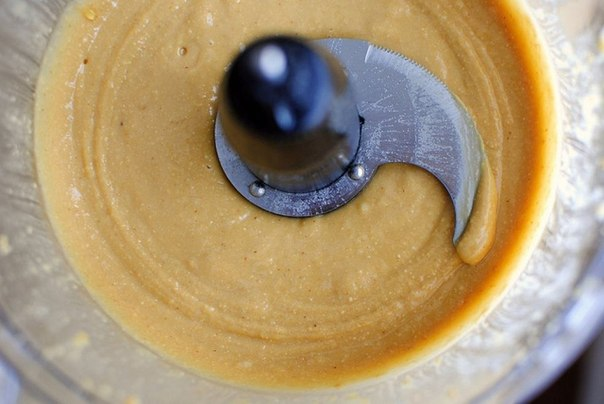 Домашнее арахисовое масло-паста