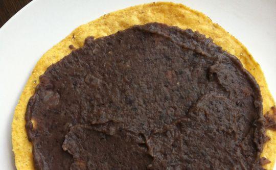 Рецепт Пережаренная черная фасоль. Приготовление   блюда