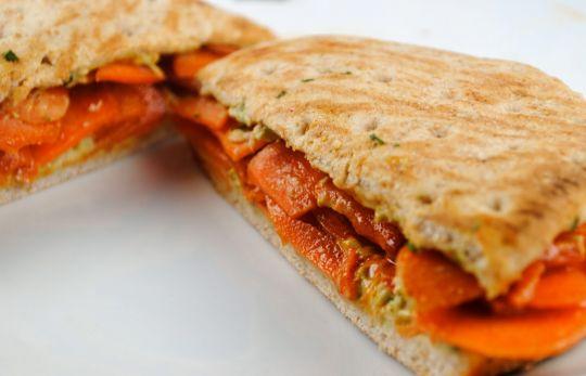 Рецепт Сэндвич с острой морковью