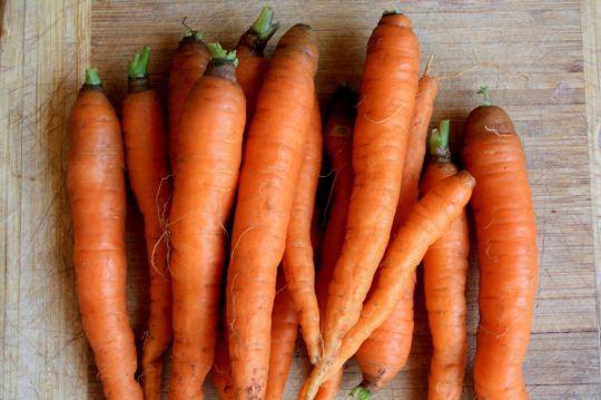 Сэндвич с острой морковью