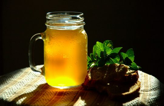 Рецепт Домашний квас на пшеничном хлебе