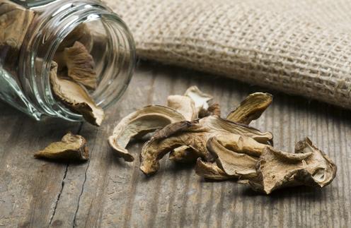 Рецепт Белые грибы сушеные в духовке