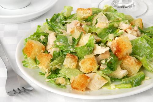 салат оливье и цезарь рецепты