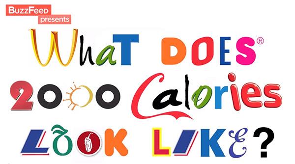 Как выглядят 2000 ккал? Суточная норма калорий в эквиваленте популярных продуктов