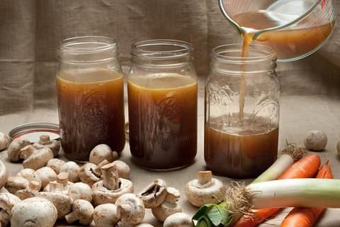 Рецепт Классический грибной бульон