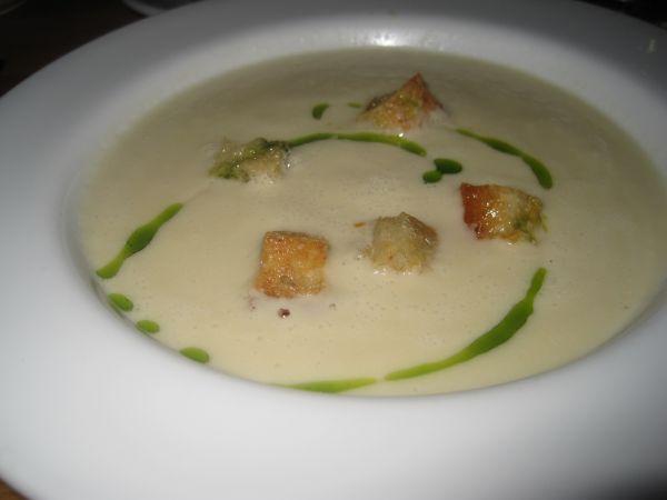 Рецепт Молочный суп с гренками