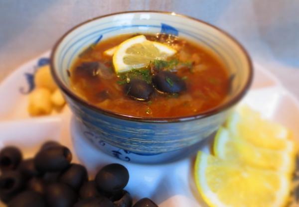 Рецепт Солянка из грибов с каперсами