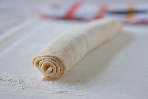 Постное слоеное тесто бездрожжевое
