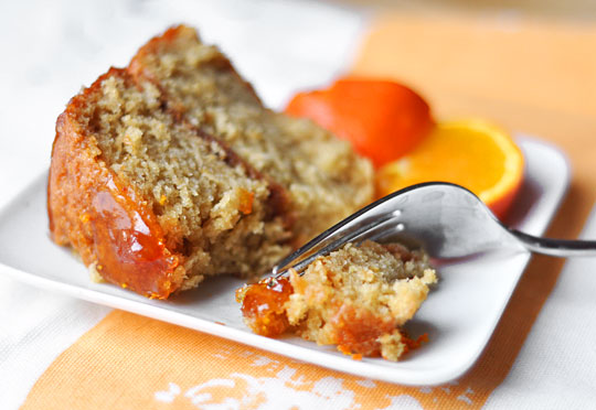 Рецепт Постный апельсиновый бисквит в мультиварке