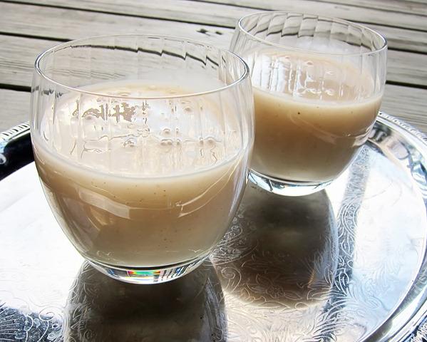 Рецепт Овсяный кисель с миндалем