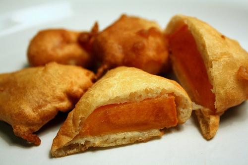 Рецепт Туркменские пирожки с хурмой