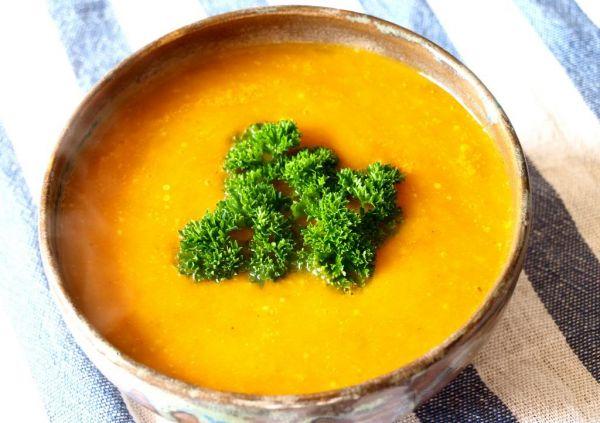 Рецепт Тыквенный суп-пюре с грецкими орехами