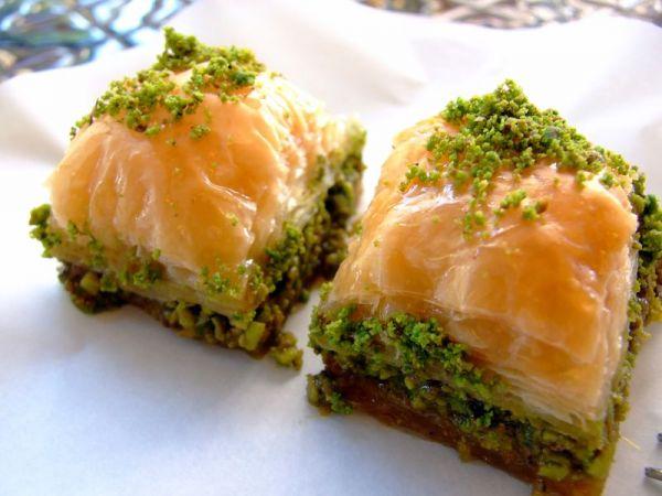 Рецепт Сирийская пахлава (Баклава, Baklava). Приготовление блюда