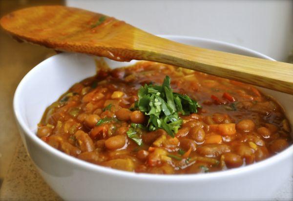 Рецепт Африканское карри из овощей Чакалака (Шакалака, Chakalaka)