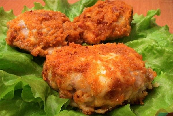 Рецепт Курица в сыре от Анастасии Скрипкиной