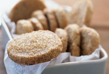 Рецепт Постное датское печенье с коричневым сахаром
