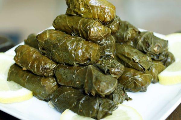 Рецепт Средиземноморская долма с булгуром и мятой