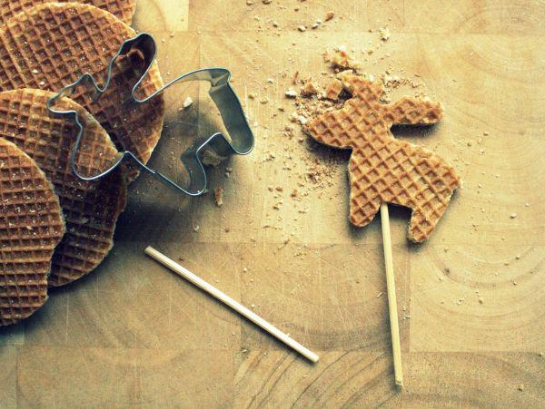Голландские вафли (Stroopwafels, Syrup Waffle)