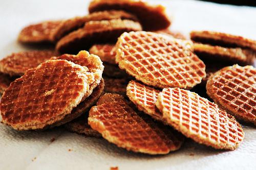 Рецепт Голландские вафли (Stroopwafels, Syrup Waffle). Приготовление   блюда