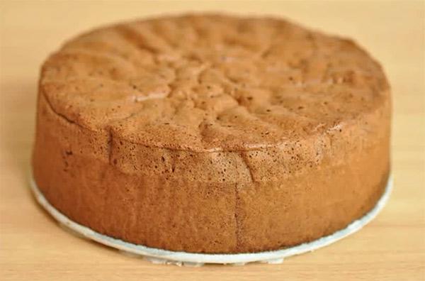 Рецепт Шоколадный бисквит