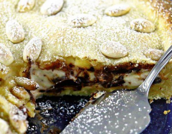 Рецепт Итальянский пирог с сыром рикотта