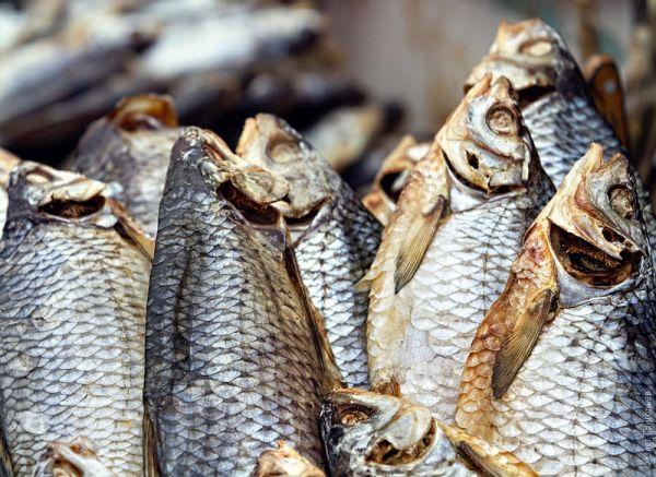 Рецепт Вяленая рыба к пиву (Таранка)