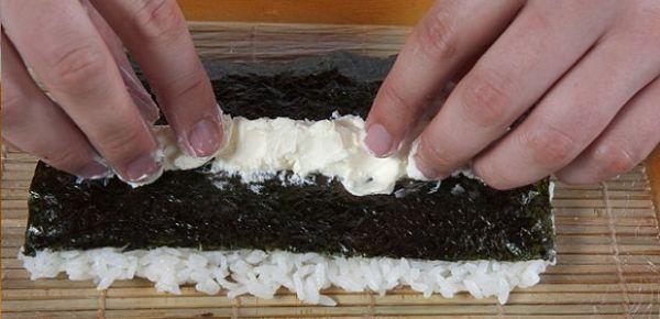 Суши с грибами в домашних условиях пошаговый