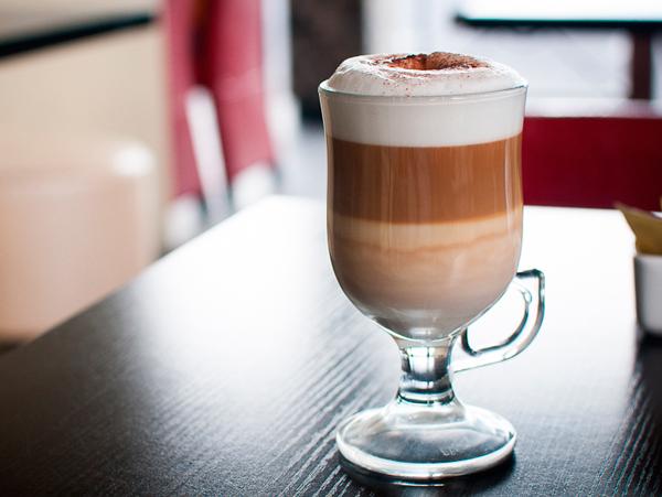 Рецепт Классический кофе латте без кофемашины