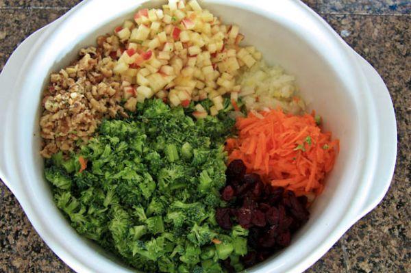 рецепты с брокколи фото рецепты салаты