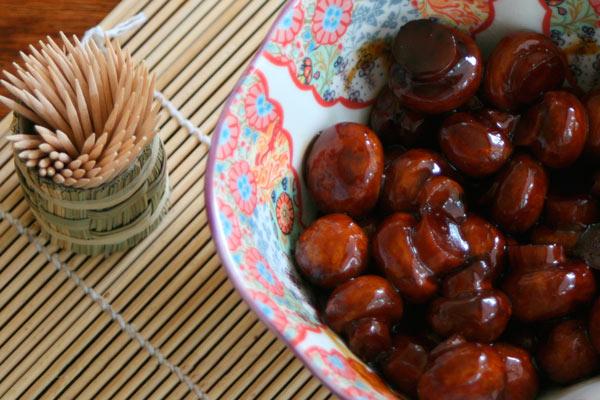 Рецепт Домашние маринованные грибы шампиньоны с бальзамическим уксусом