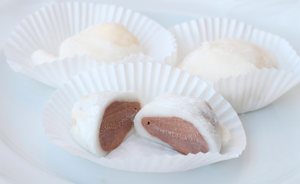 Рецепт Японское мороженое Юкими из теста Моти (Мочи)