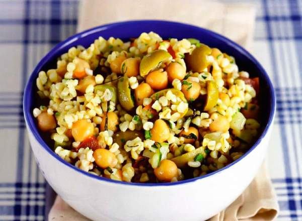 Рецепт Израильский табули. Приготовление   блюда
