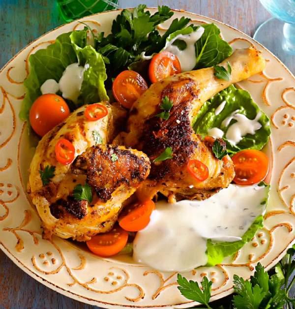 Рецепт Сирийский цыпленок гриль