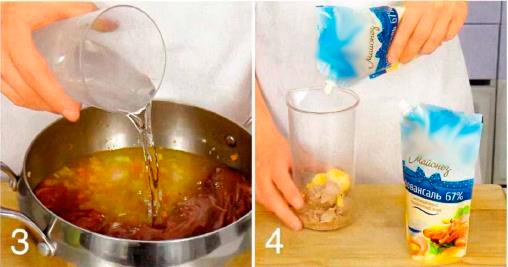 Закуска из телятины с соусом из тунца (Вителло тоннато)