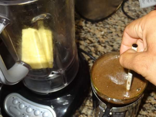 Кофе с маслом - Энергетический напиток