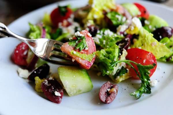 Рецепт Вкусный греческий салат