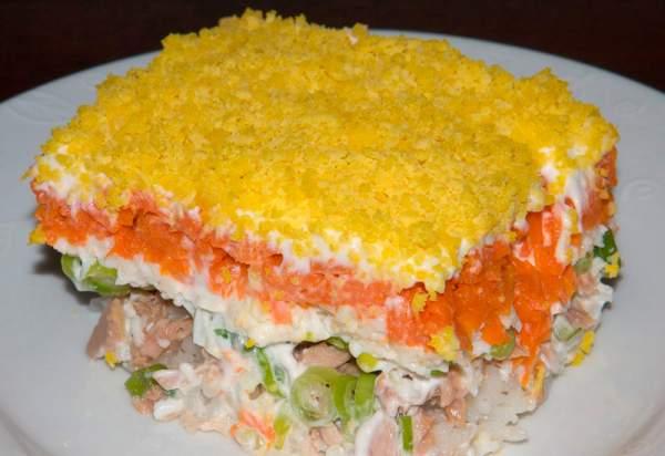 Рецепт Салат мимоза классический. Приготовление   блюда