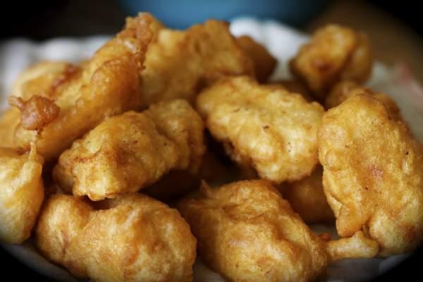 Рецепт Хрустящая рыба в кляре