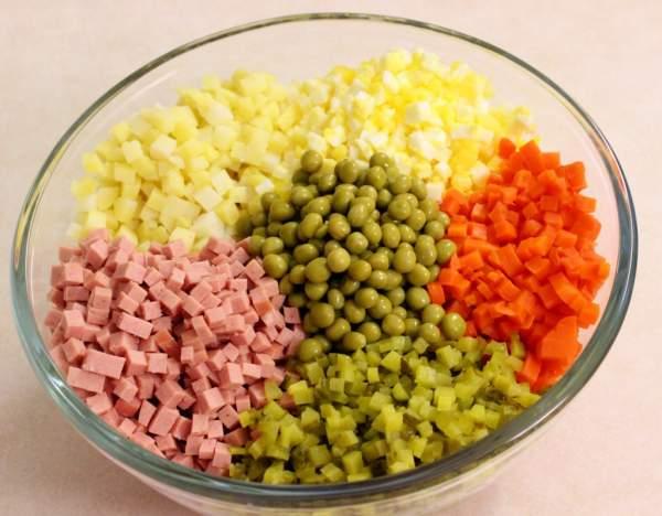 Как приготовить салат оливье рецепт
