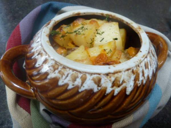 Рецепт Картошка в горшочках