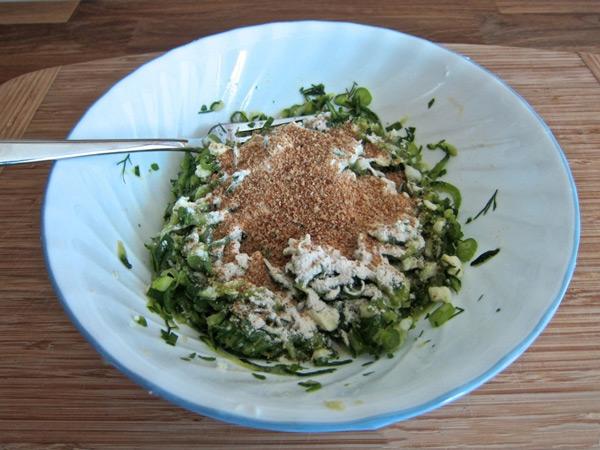 Греческие оладьи из кабачков с Дзадзики