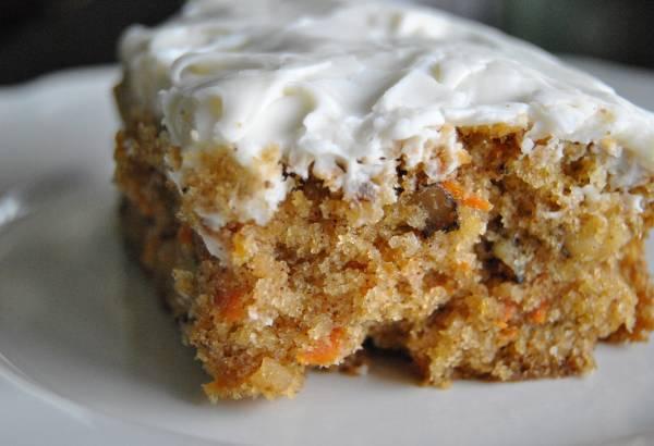 Рецепт Норвежский морковный пирог без яиц и молока