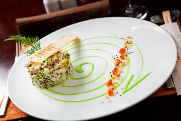 ресторанные блюда рецепты фото