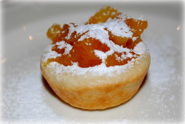 Рецепт Волованы-пирожки с курагой. Приготовление блюда