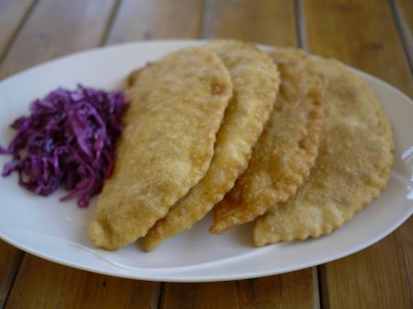 Рецепт Монгольские чебуреки с мясом (Хушур)