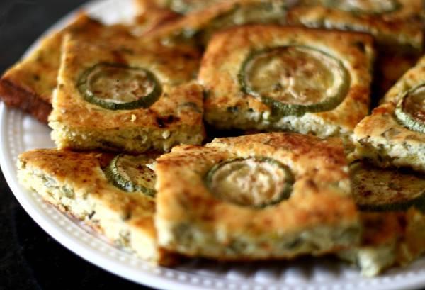 Рецепт Греческая запеканка из кабачков (Kourkouto)